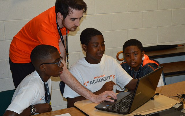 Geek Squad Academy was peachy keen in McDonough, GA!